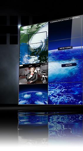 display video wall per control room