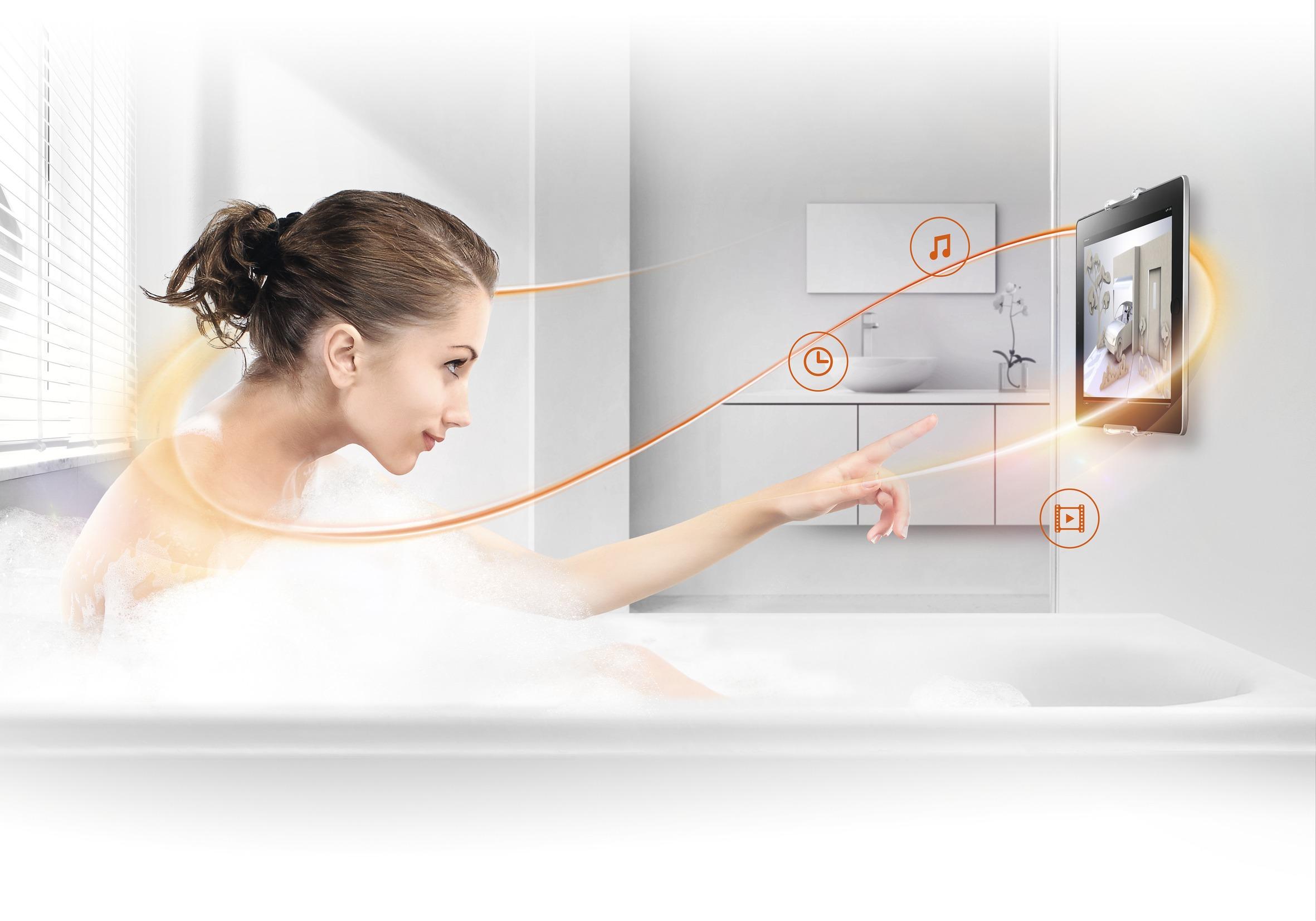TMS 1010 - supporto tablet da parete